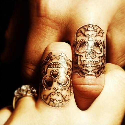 Creative Tattoos Wedding Ring Tattoos