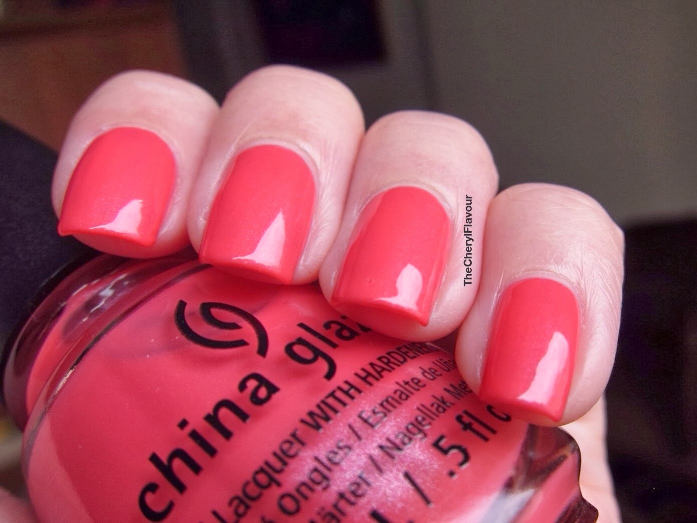 China Glaze Strike A Rose