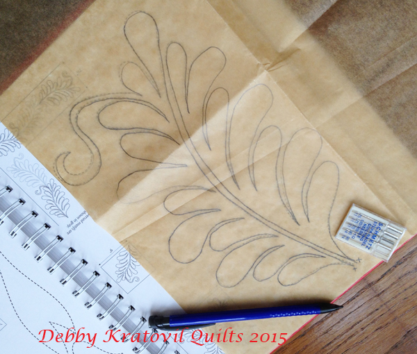 Traceable Quilting Templates : Debby Kratovil Quilts: Machine Quilting Using Freezer Paper and Stencils