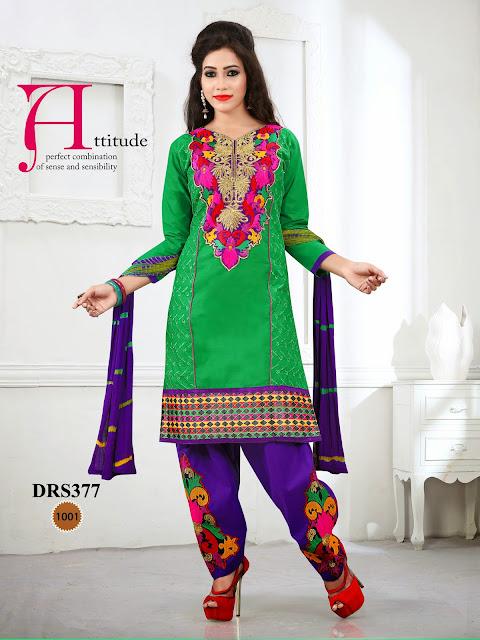 New Chanderi Cotton Dress Material – Exporter