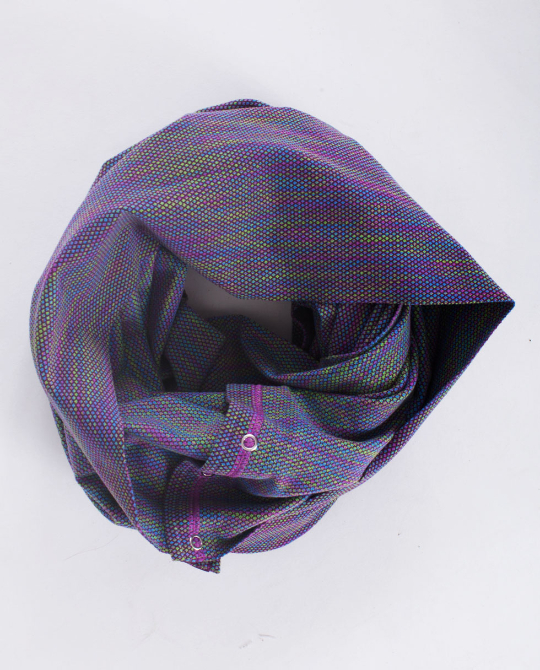 ivivva village chill scarf space dye plum
