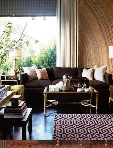 Jodie carter design glamorous living for Belle maison interieur design