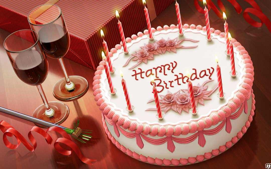 25  best Happy Birthday Cakes ideas on Pinterest | Beautiful ...