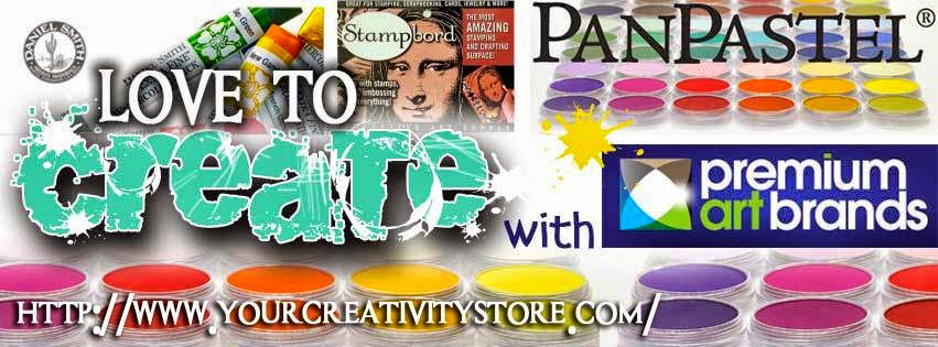 Love to Create Challenge Blog...sponsored by Premium Art Brands