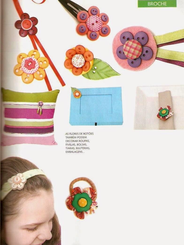 Como fazer flores com botões