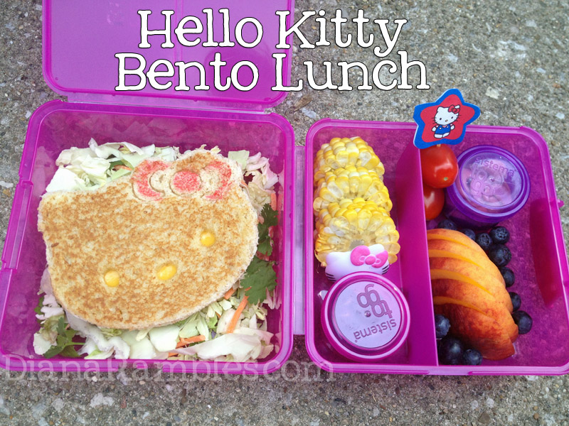 hello kitty grill cheese bento giveaway ended diana rambles. Black Bedroom Furniture Sets. Home Design Ideas
