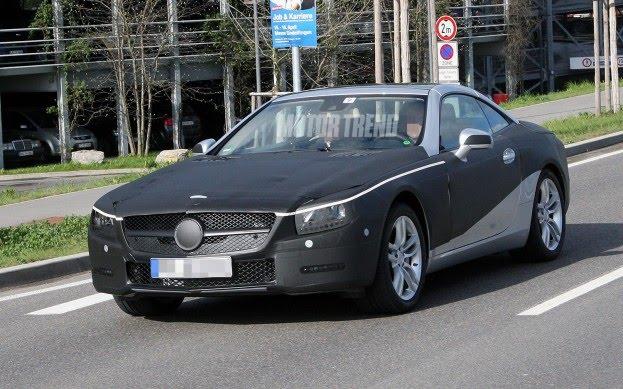 Spy Photos: 2012 Mercedes-Benz SL