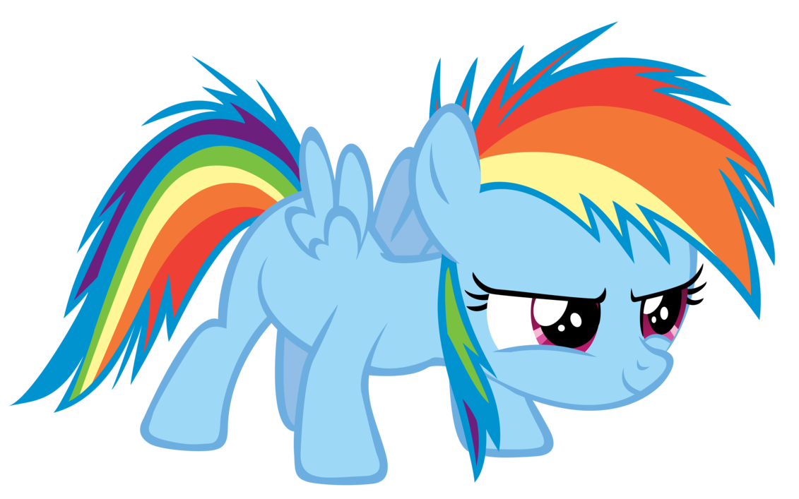Mlp Filly Rainbow Dash | www.pixshark.com - Images ...