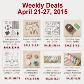 Weekly Deals Sale!  Apr 21-27