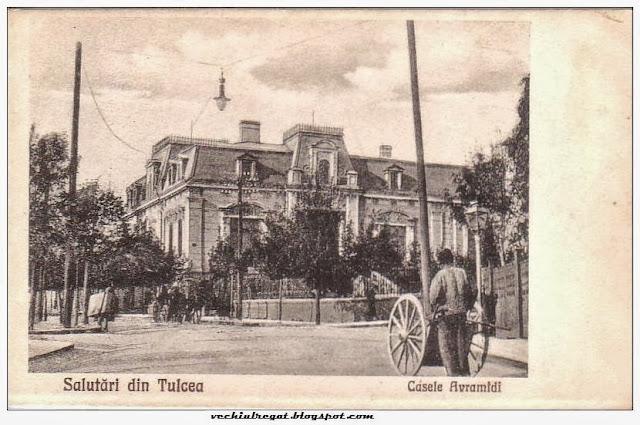 Casele Avramidi din Tulcea