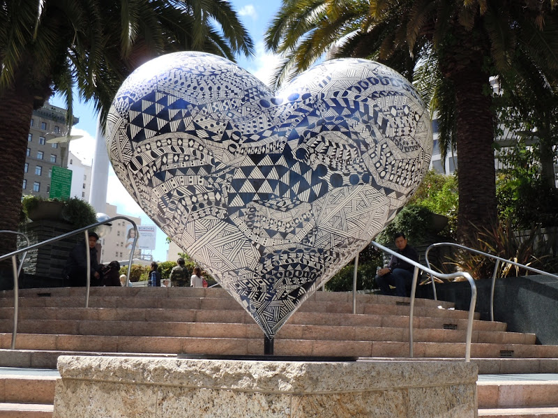 Untitled Heart sculpture Hilary Pecis