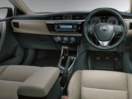 Spesifikasi Corolla Altis