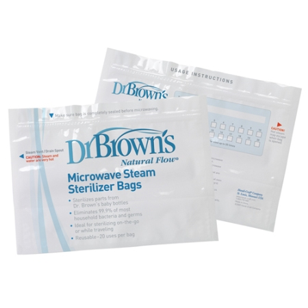 drbrown's microwave steam sterilize bags