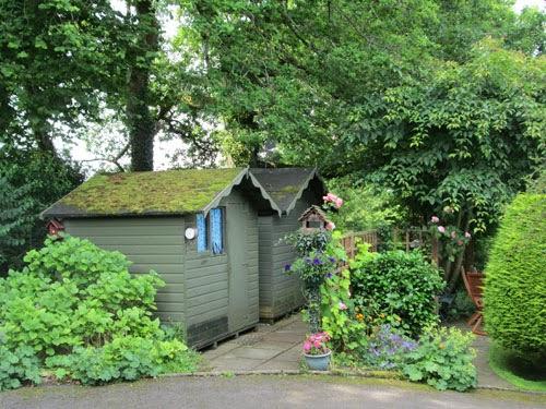 secret garden shed
