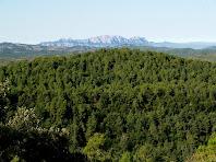 Montserrat des del camí del Girbau
