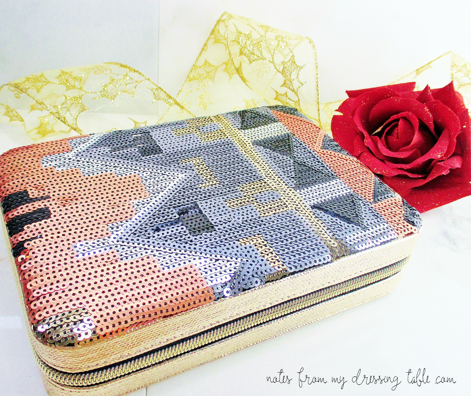 Tarte Light of the Party Collectors Makeup Case Review notesfrommydressingtable.com