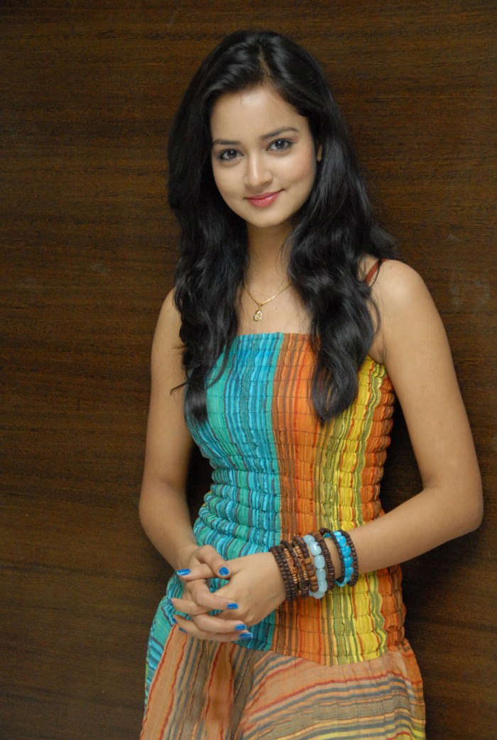 Shanvi Hyderabad Lovely actress - Shanvi at Hyderabad Lovely Movie Success Meet stills