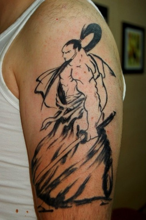 fotos de tattoos de samurai