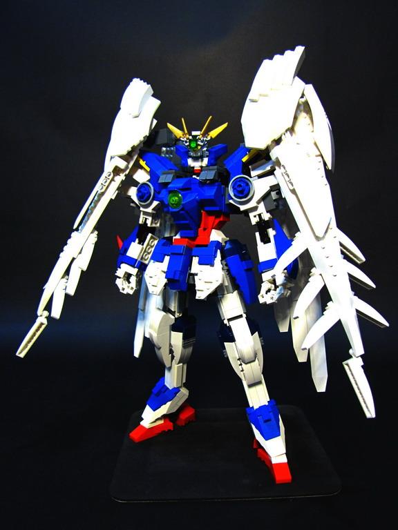 GUNDAM GUY: LEGO Wing Gundam Zero Custom