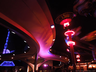 People Mover Tracks Rocket Rods Disneyland Tomorrowland