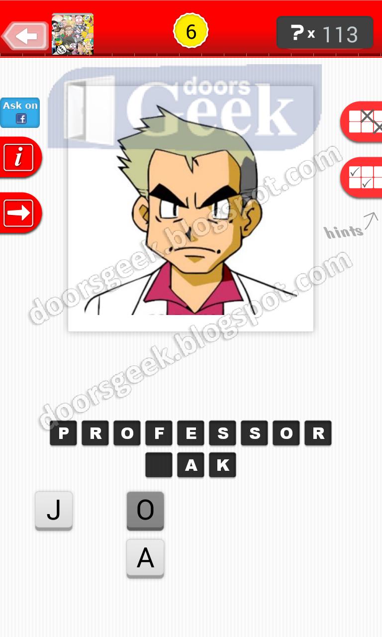 Cartoon Characters Level 6 : Guess logo iphone ipad emoji stageinstrukciya