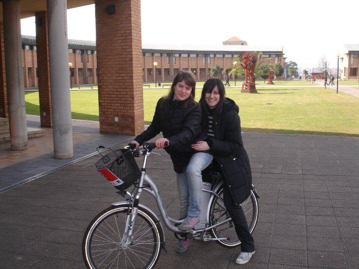 Gijón en bicicleta