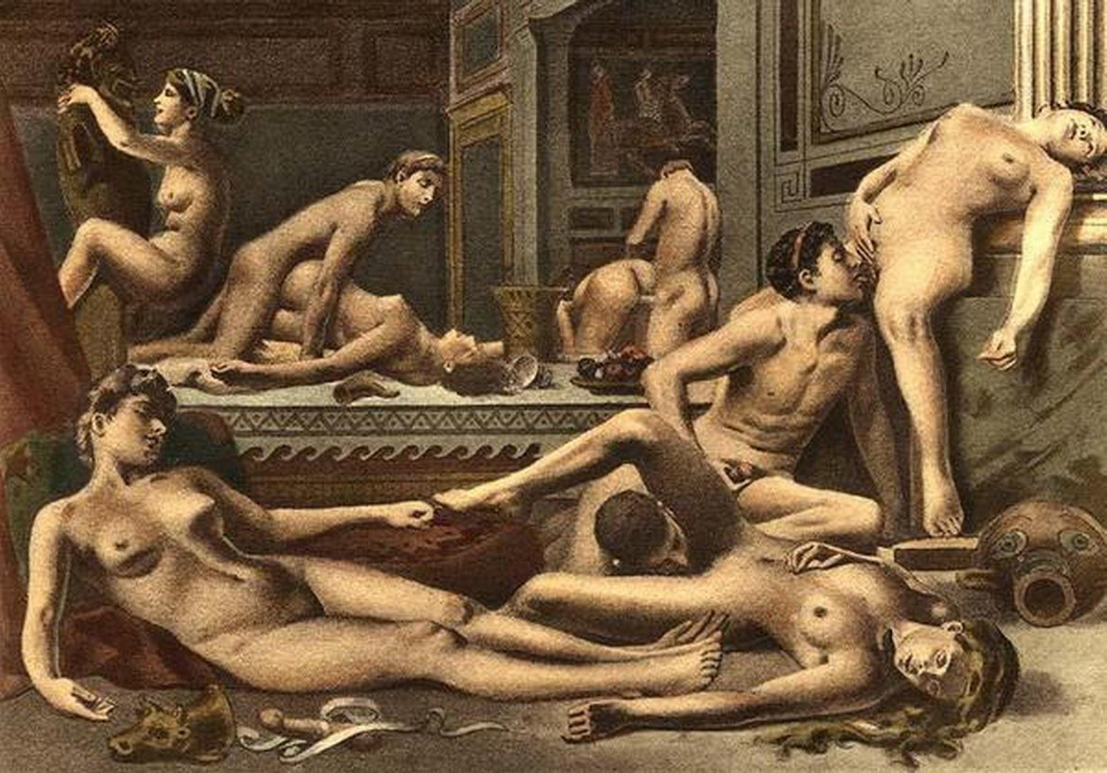 Смотреть в древности порно 7 фотография