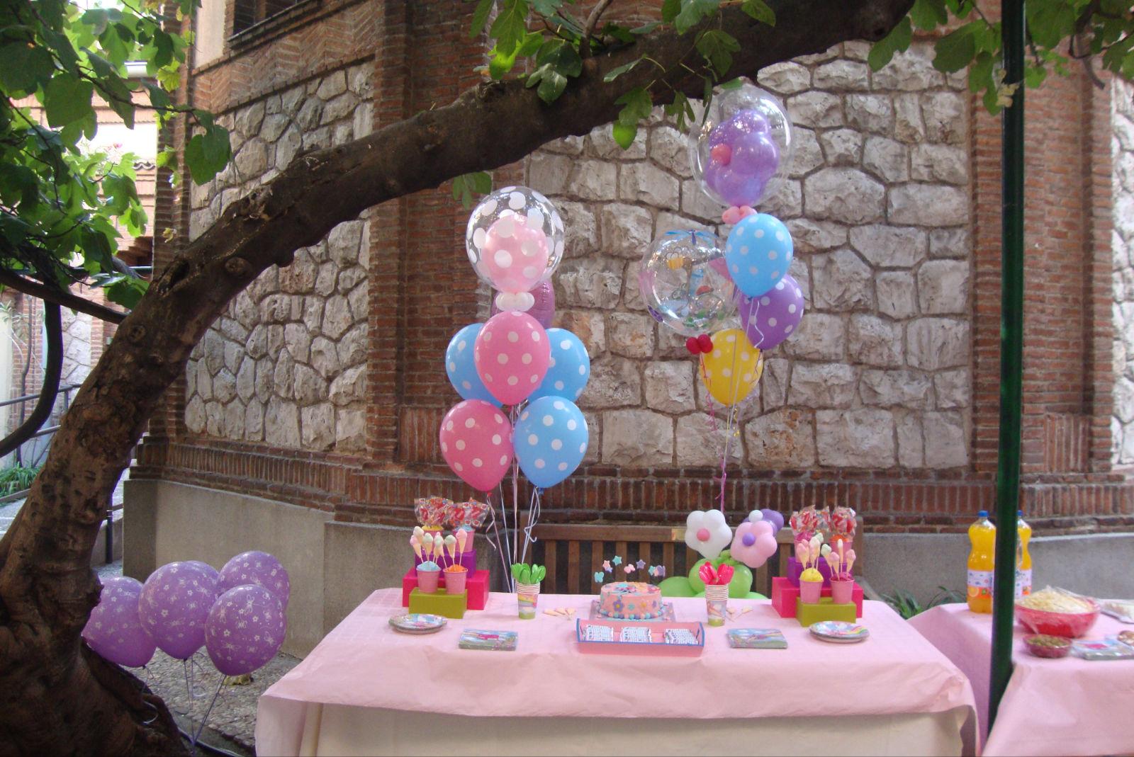 me gusta celebrar: Un cumpleaños de hadas