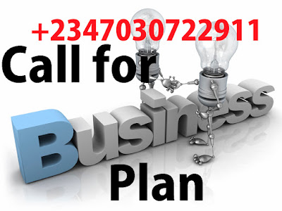 Get Business Plan Call 07030722911
