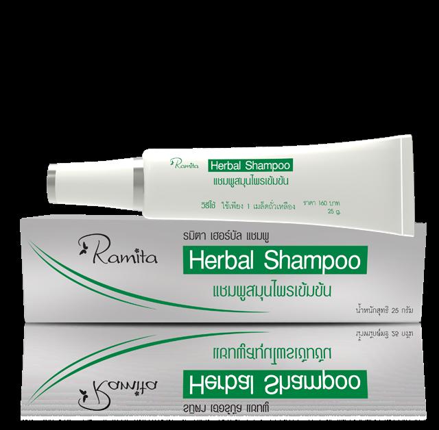 Herbal Shampoo Ramita Moringo Dầu gội đầu thảo