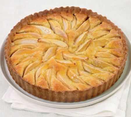 pear tart how to cook normandy pear tart pear tart photo french pear ...