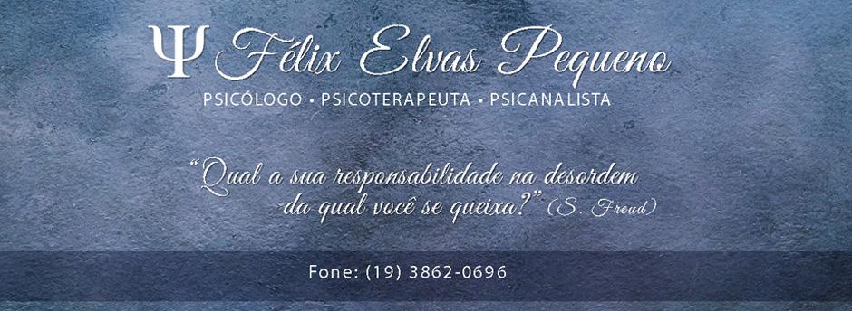 Félix Elvas Pequeno - Psicólogo Mogi Mirim