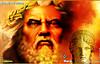 desenho do rosto de Zeus