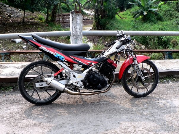 Modifikasi Mesin Motor Rx King Drag