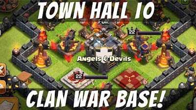 Base COC TH 10 War Terkuat