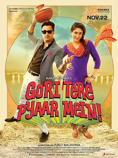 Gori Tere Pyaar Mein! (2013) - Bollywood Hindi Movie First look Poster