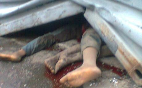 Couple In Lagos Crushed By Trailer
