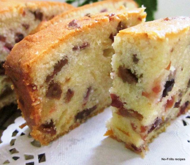 Plain Fruit Cake Recipe
