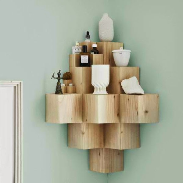 Great suggestions for corner shelving units 20 ideas Corner shelf ideas