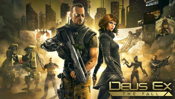 Deus Ex: The Fall v0.0.19 Apk + Data Mod [Unlimited Credits, Exp e Munição / Torrent]