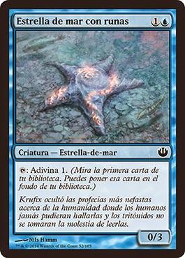 Estrella de mar con runas