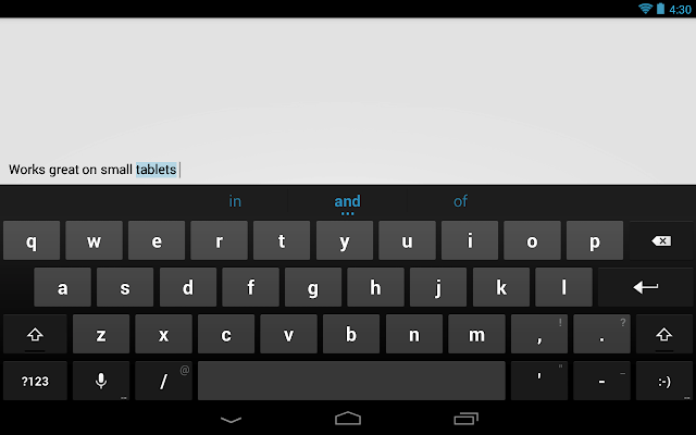 google stock android keyboard the geek solutions