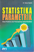 toko buku rahma: buku STATISTIKA PARAMETRIK (Dasar Pemikiran dan Penerapannya Dalam Penelitian) , pengarang tomo djudin, penerbit tiara wacana