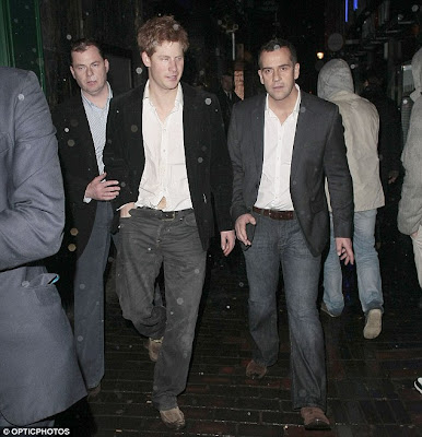 prince harry partying. partying with Prince Harry