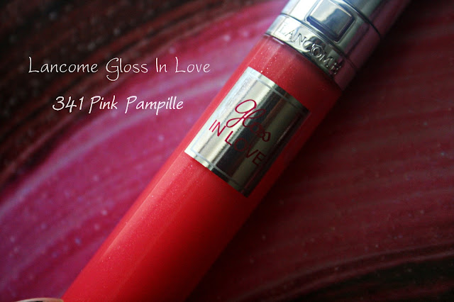 Lancome Gloss In Love 341 Pink Pampille Review, Photos & Swatches