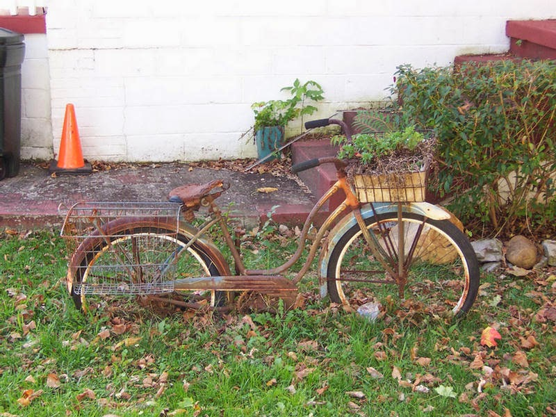 1st State Bikes Re Purpose Your Old Bicycle As A Garden