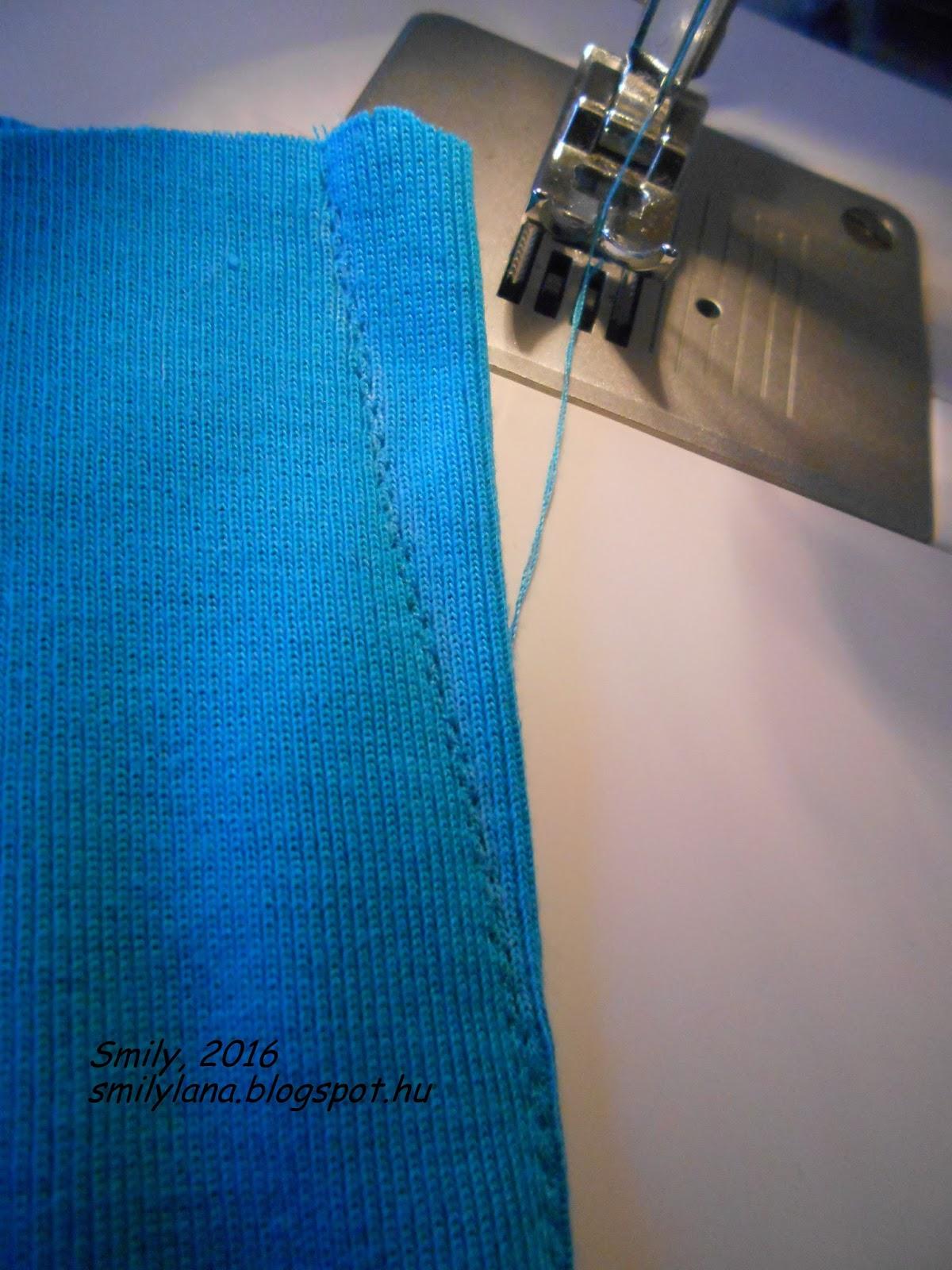 Как шить трикотаж на обычной швейной машине: все о трикотажном шве 745