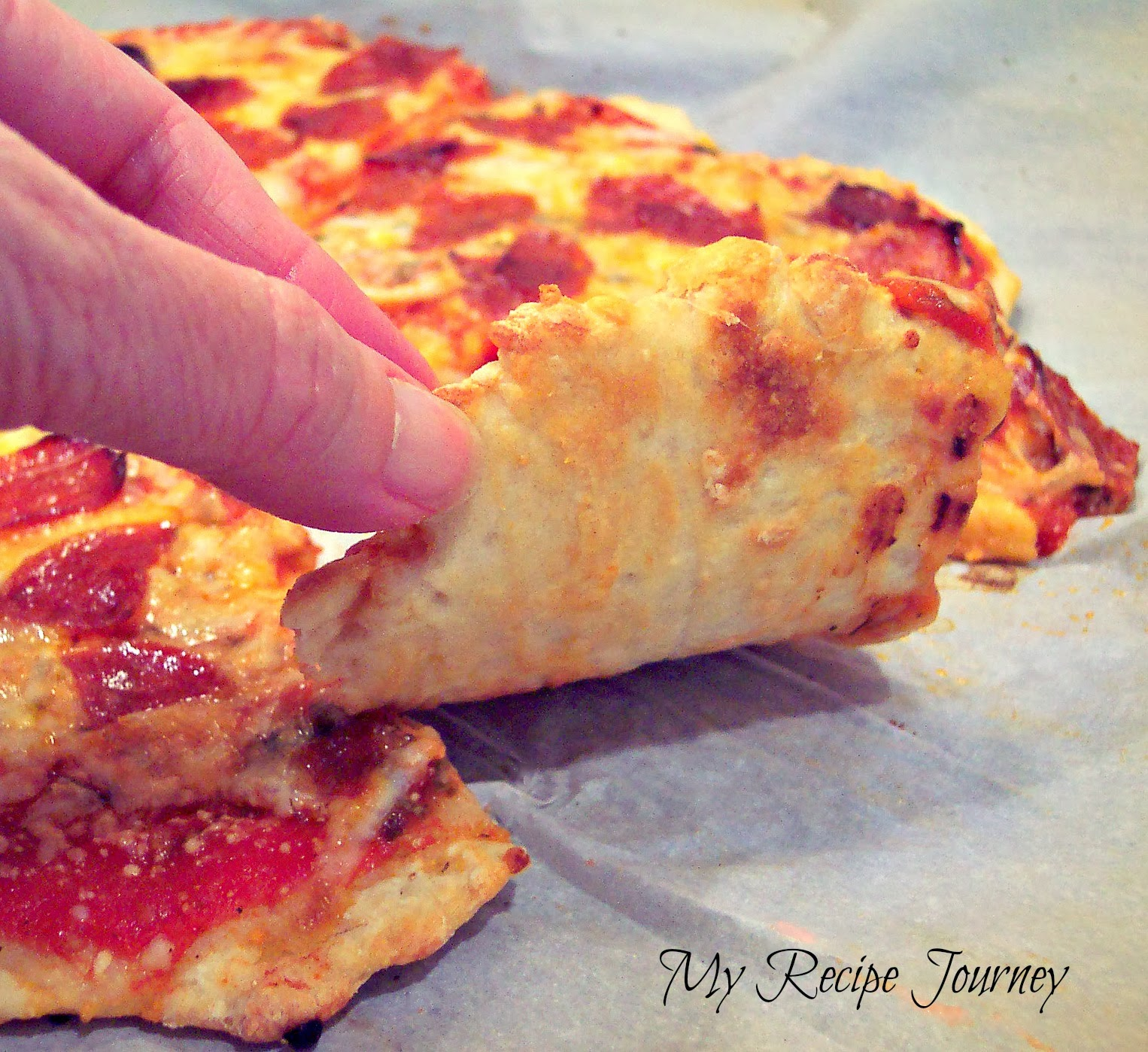 2 Ingredient Pizza Dough