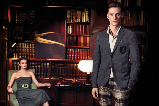 blazer in preppy style