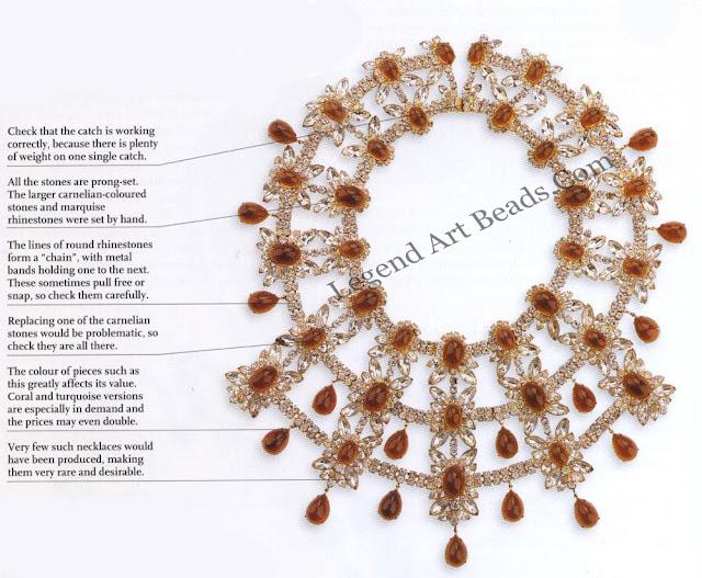 Ken Lane Jeweled Collar